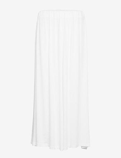 AMELIA - maxi nederdele - white