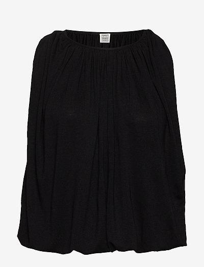 MAIDA - langærmede bluser - black