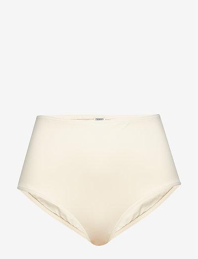 PETRONA - højtaljede bikiniunderdele - creme 820