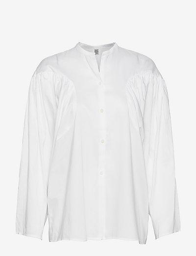 MONCTON - langærmede bluser - white 100