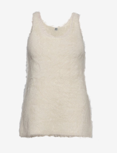 VENCE - strikkede toppe - ivory 160