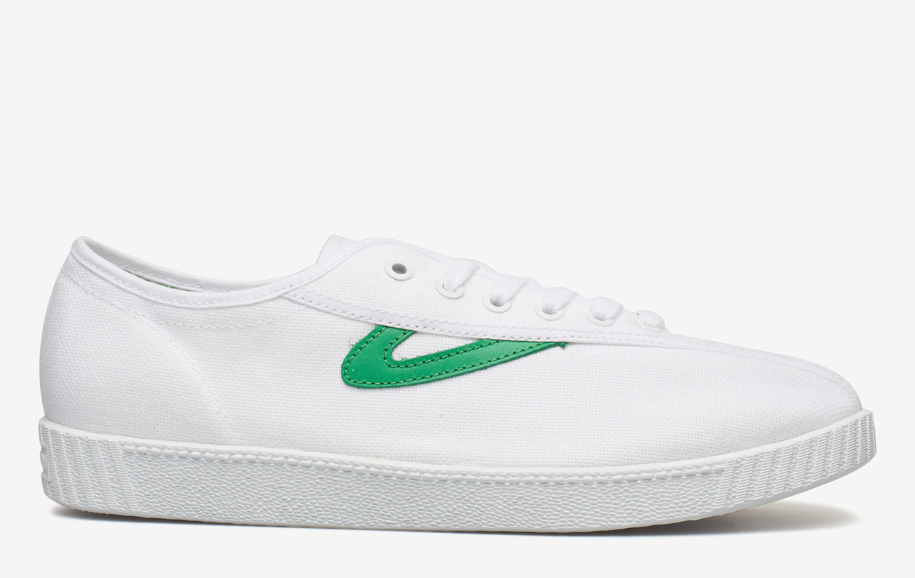 Tretorn NYLITE - Sneakers 029/WHITE/GREEN