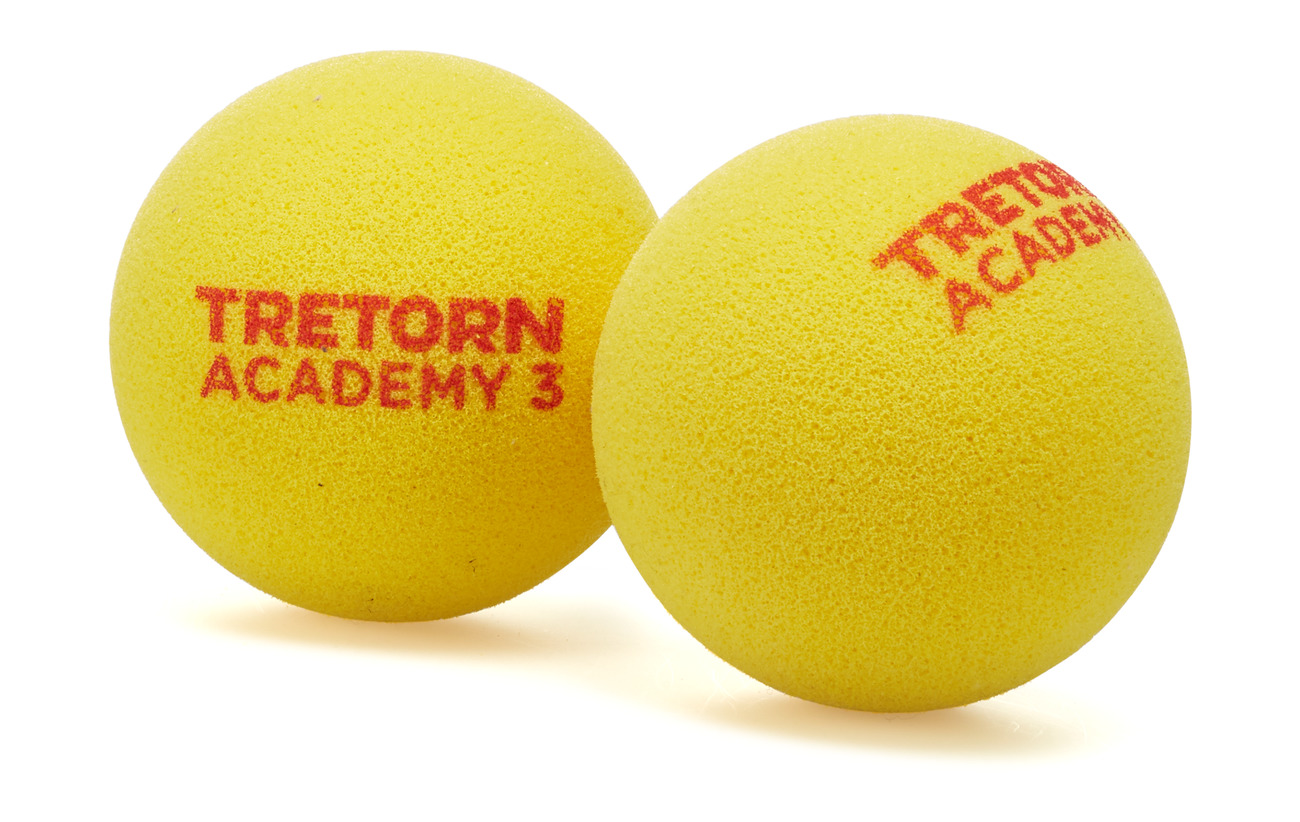 Tretorn ACADEMY RED FOAM 2 PACK - YELLOW