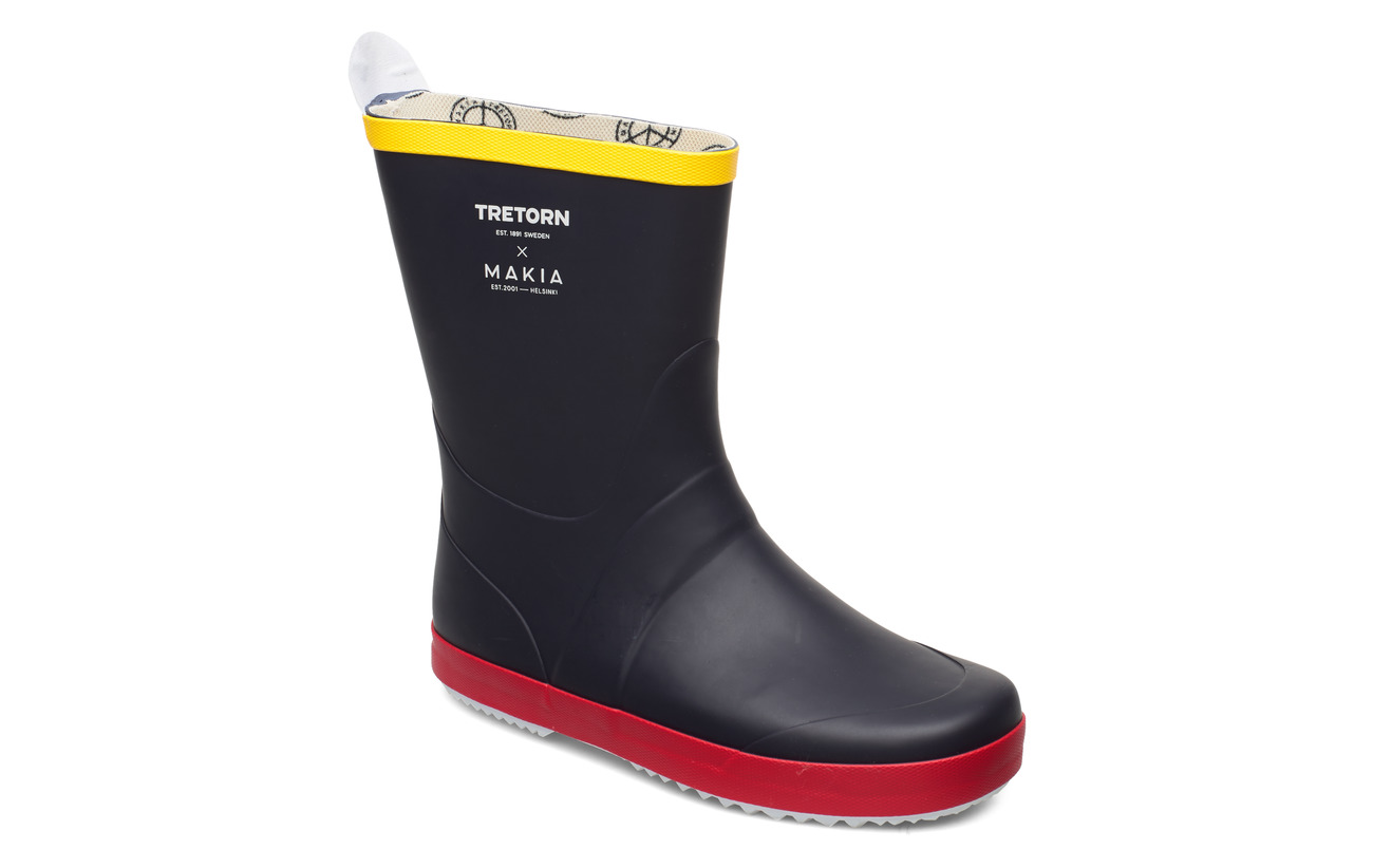 Tretorn TRETORN X MAKIA RUBBERBOOT - 080/NAVY