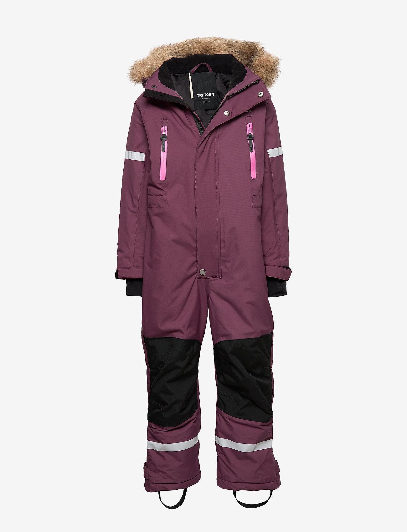 Tretorn - FROST OVERALL - snowsuit - eggplant - 0