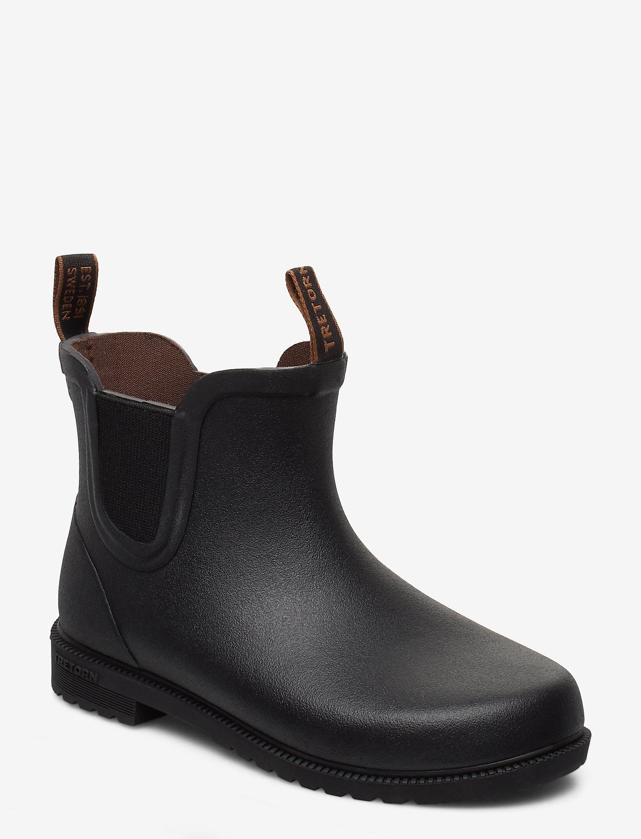 Tretorn - KIDS CHELSEA CLASSIC - bottes en chaouthouc - 010/black - 0
