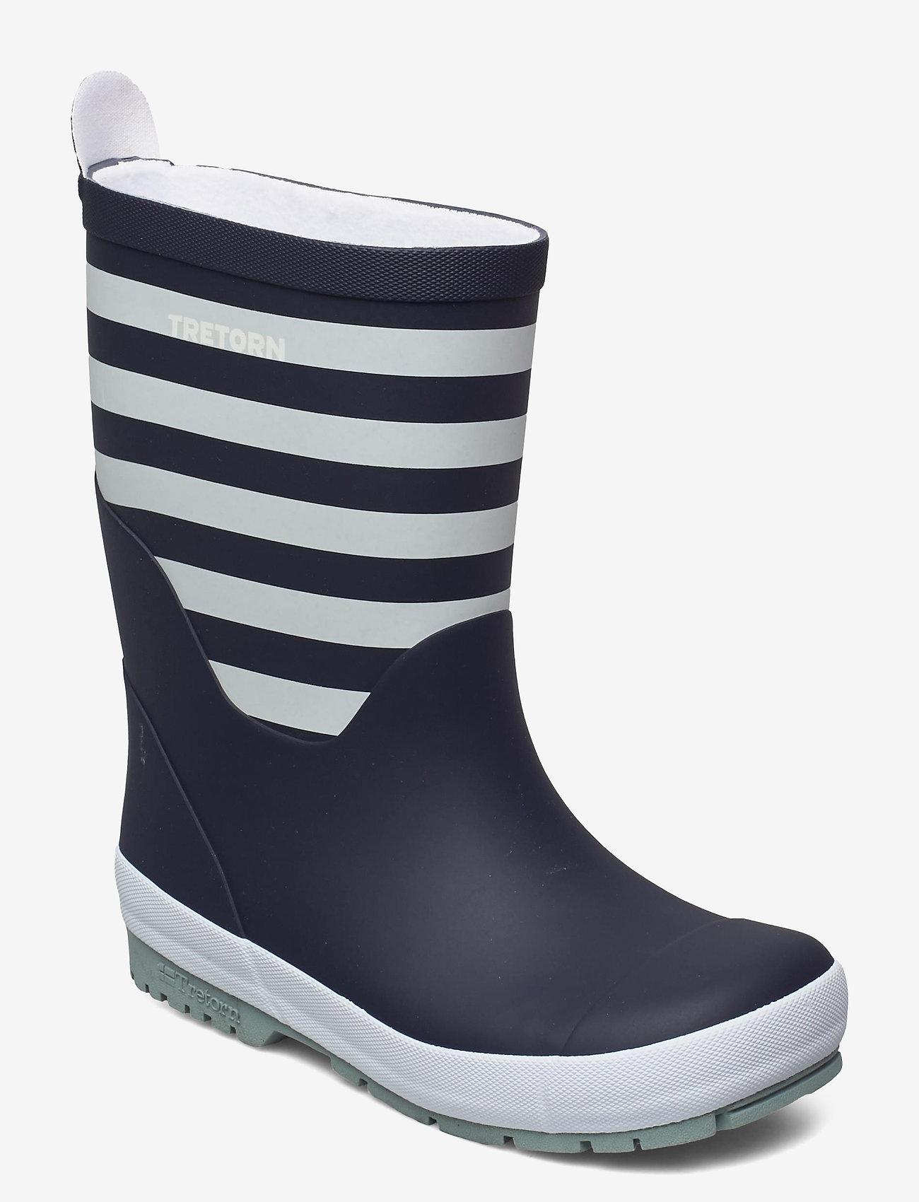 Tretorn - GRNNA - bottes en chaouthouc - 081/navy/white - 0