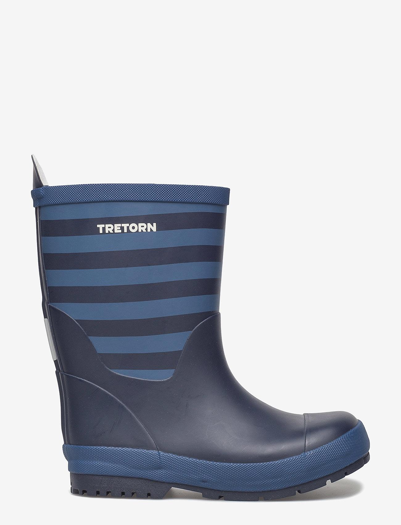 Tretorn - GRNNA - bottes en chaouthouc - 084/navy/storm - 1