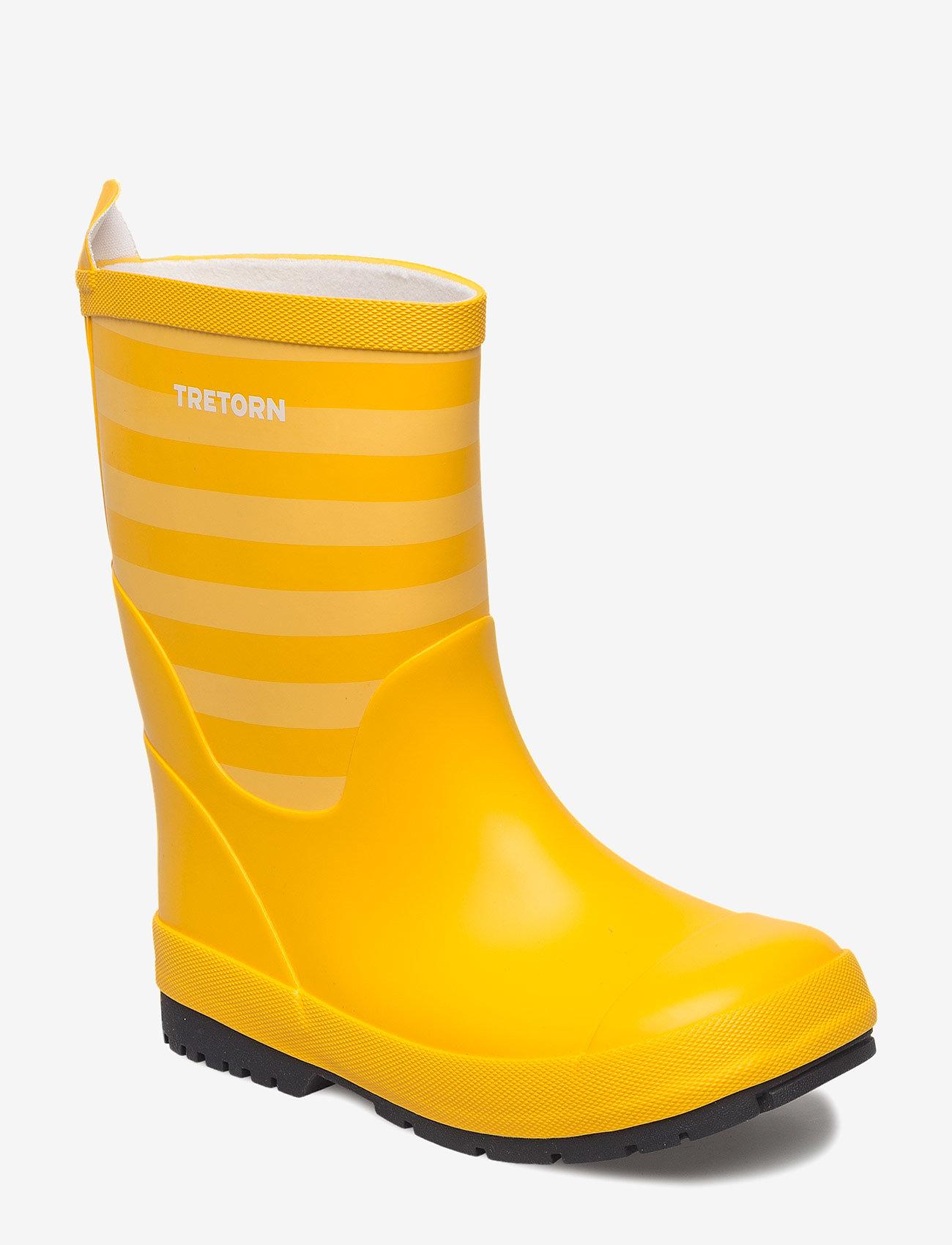 Tretorn - GRNNA - bottes en chaouthouc - yellow/yellow - 0