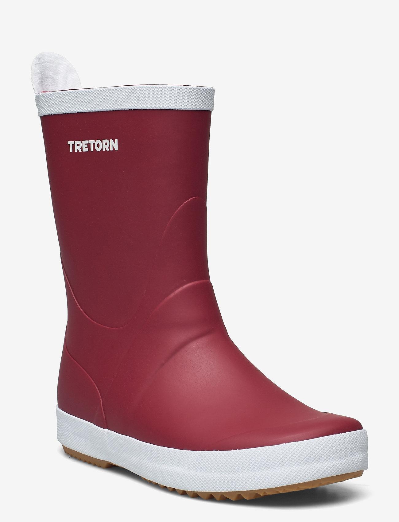 Tretorn - WINGS - kozaki i trzewiki - 051/autumn red - 0