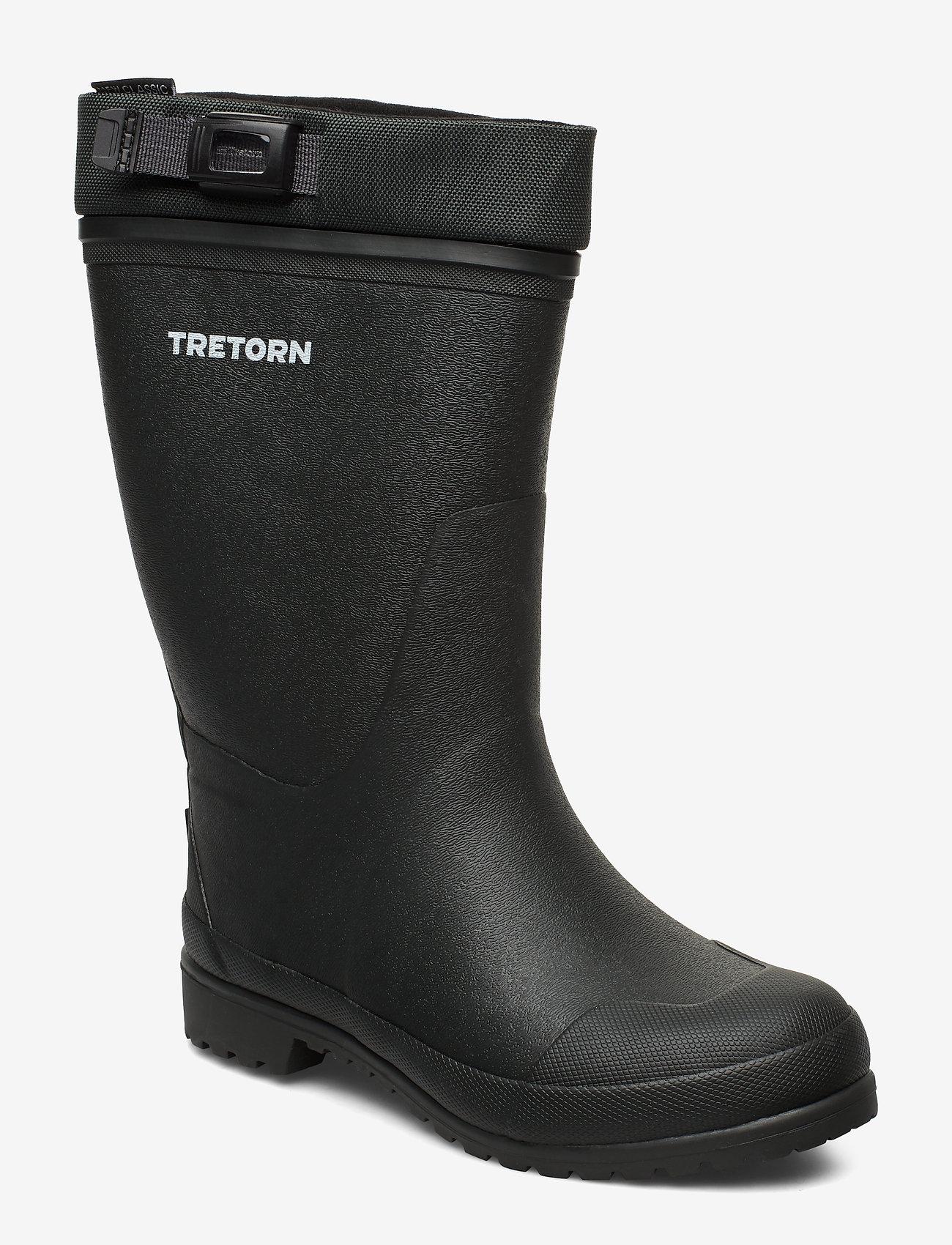Tretorn - BORE S - bottes de pluie - dark grey - 0
