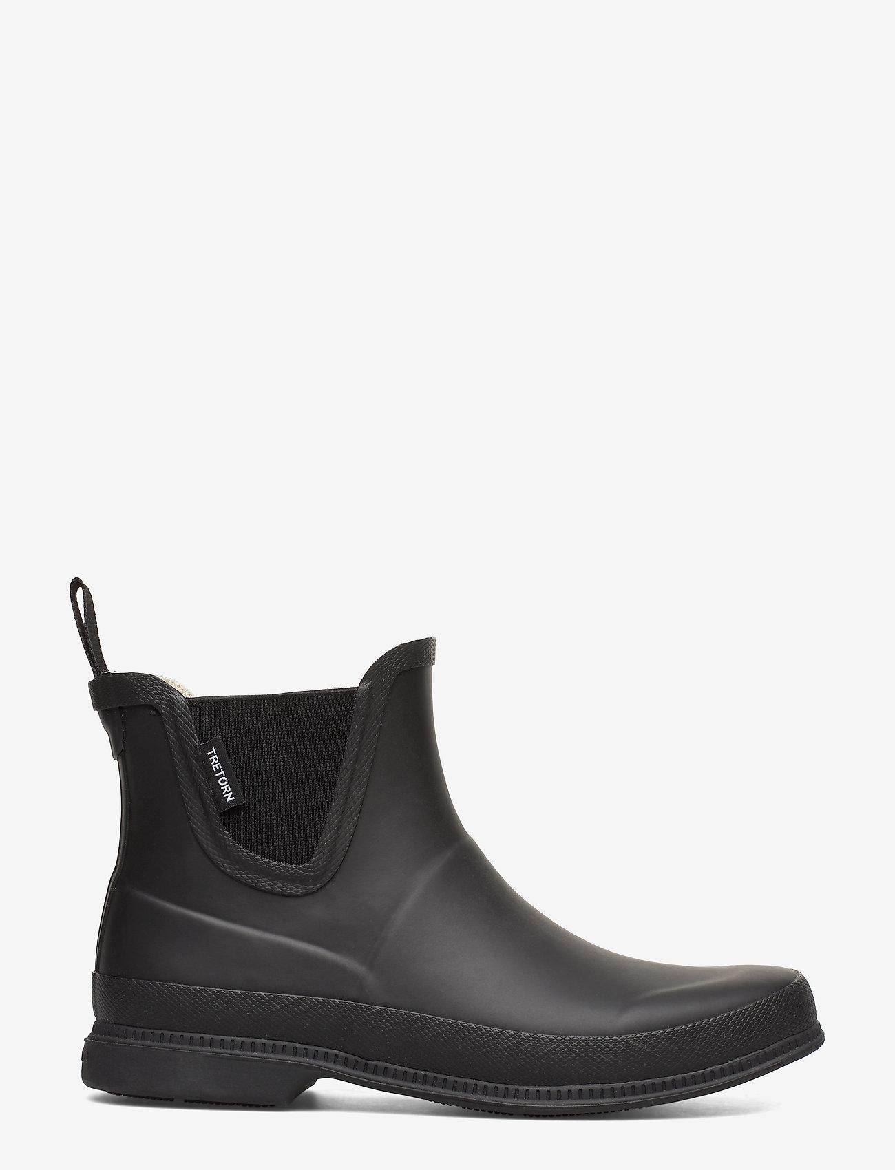 Tretorn - EVA LG - rain boots - black/black - 1