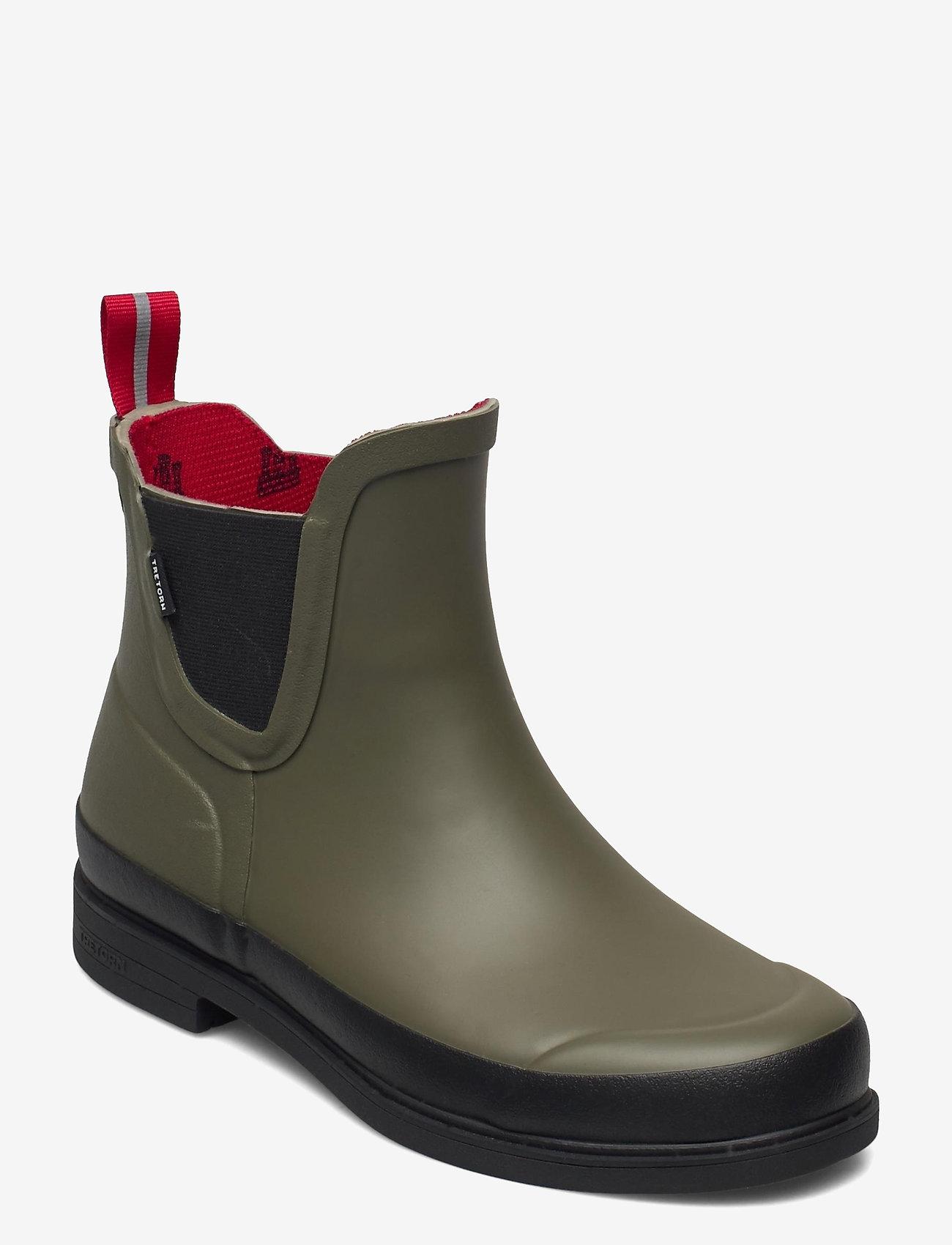 Tretorn - EVA - buty zimowe - 066/field green - 0