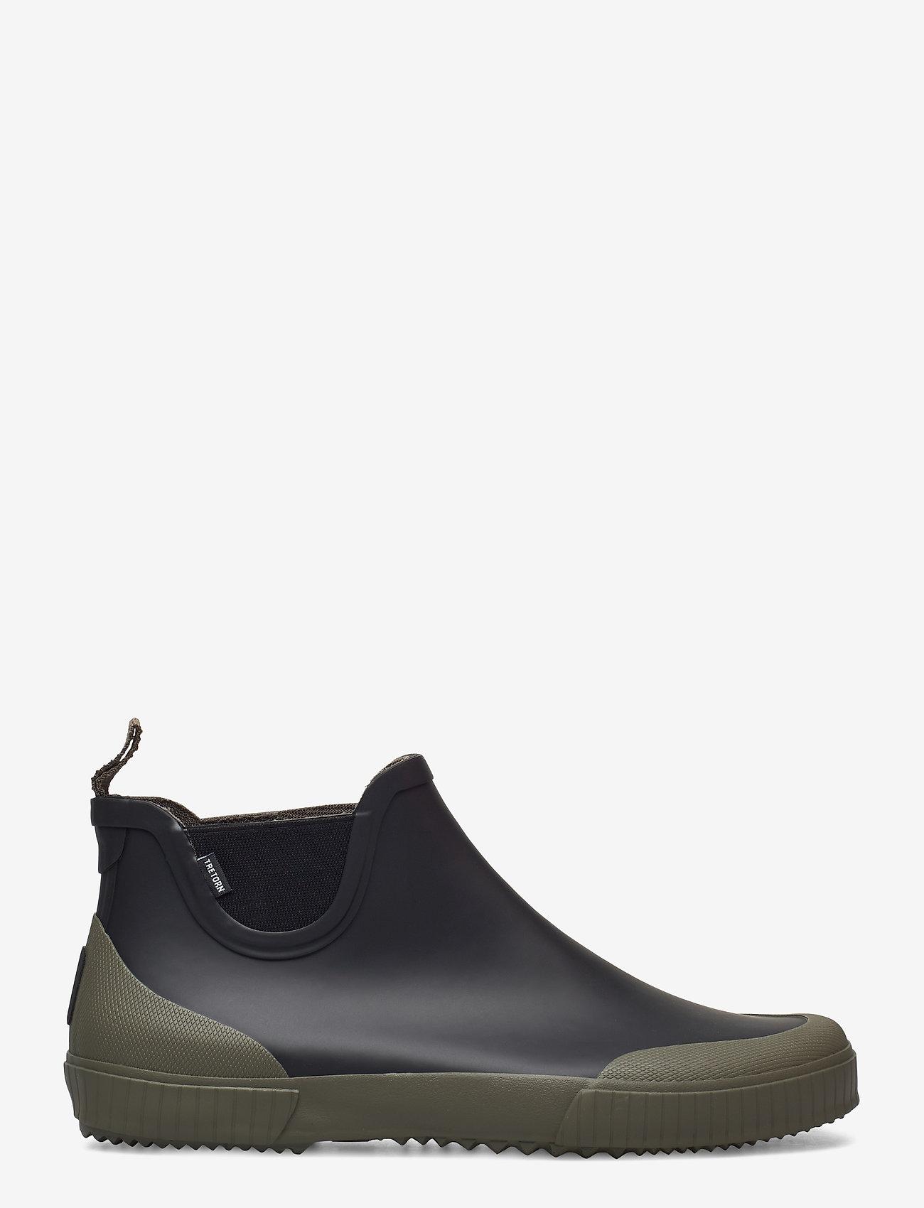 Tretorn - BOLT - bottes de pluie - 019/black/field - 1