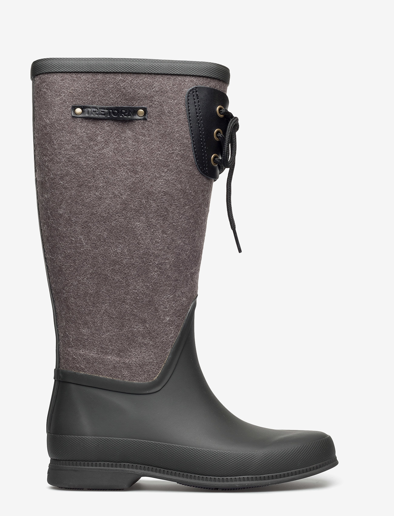 Tretorn - LISA LACE WOOL - bottes de pluie - black - 1