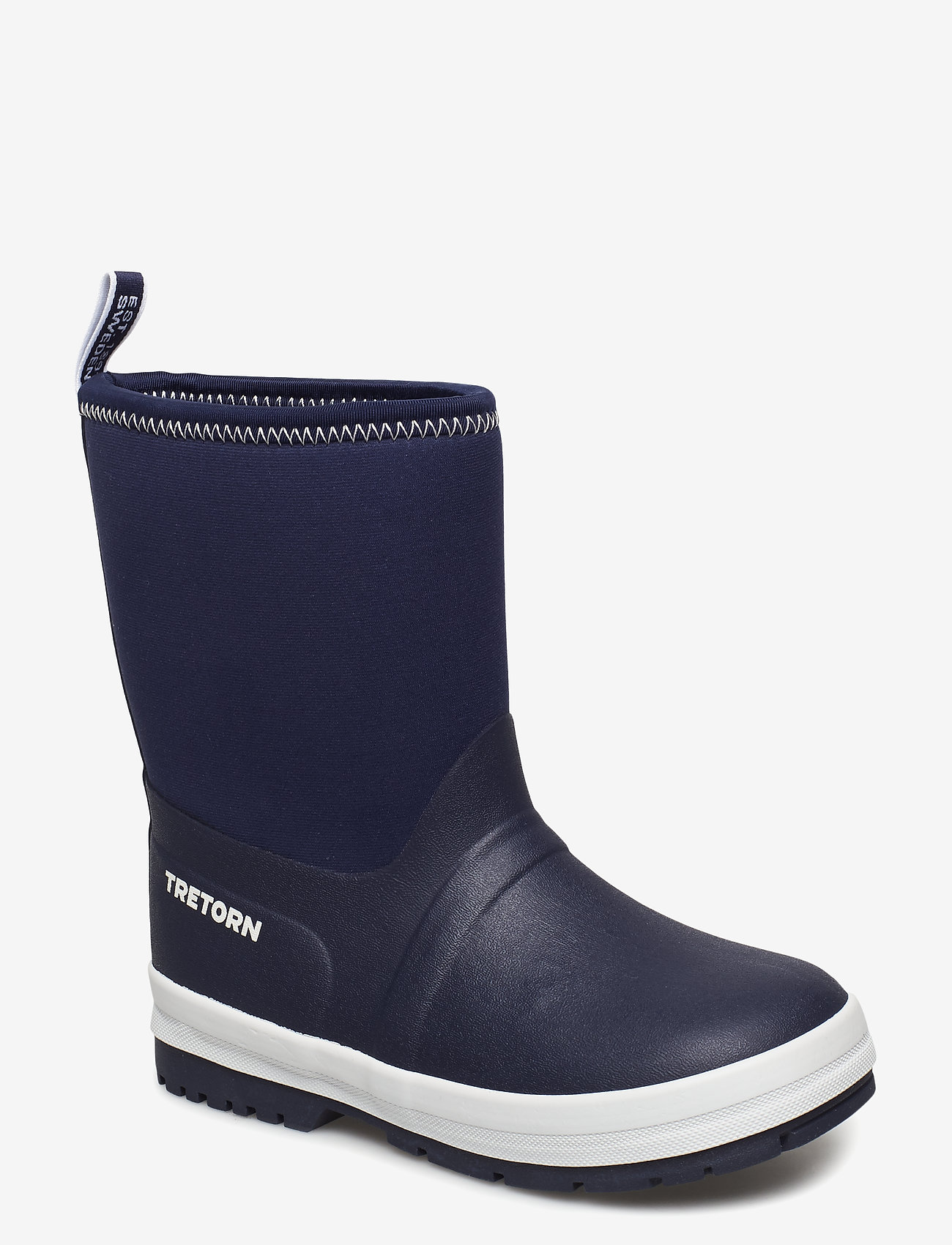 Tretorn - KULING NEOPRENE - bottes en chaouthouc - 081/navy/white - 0