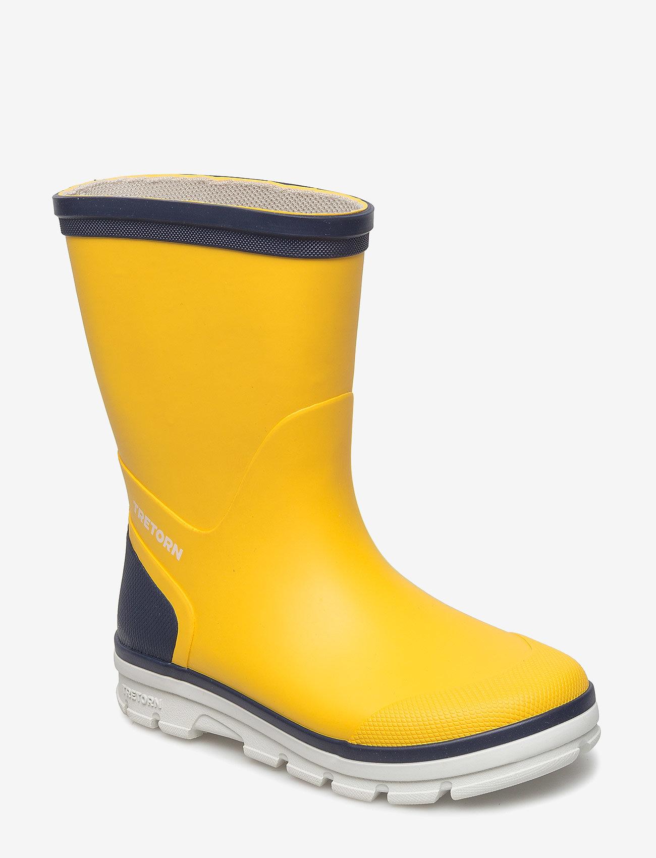 Tretorn - AKTIV - bottes en chaouthouc - 070/yellow - 0