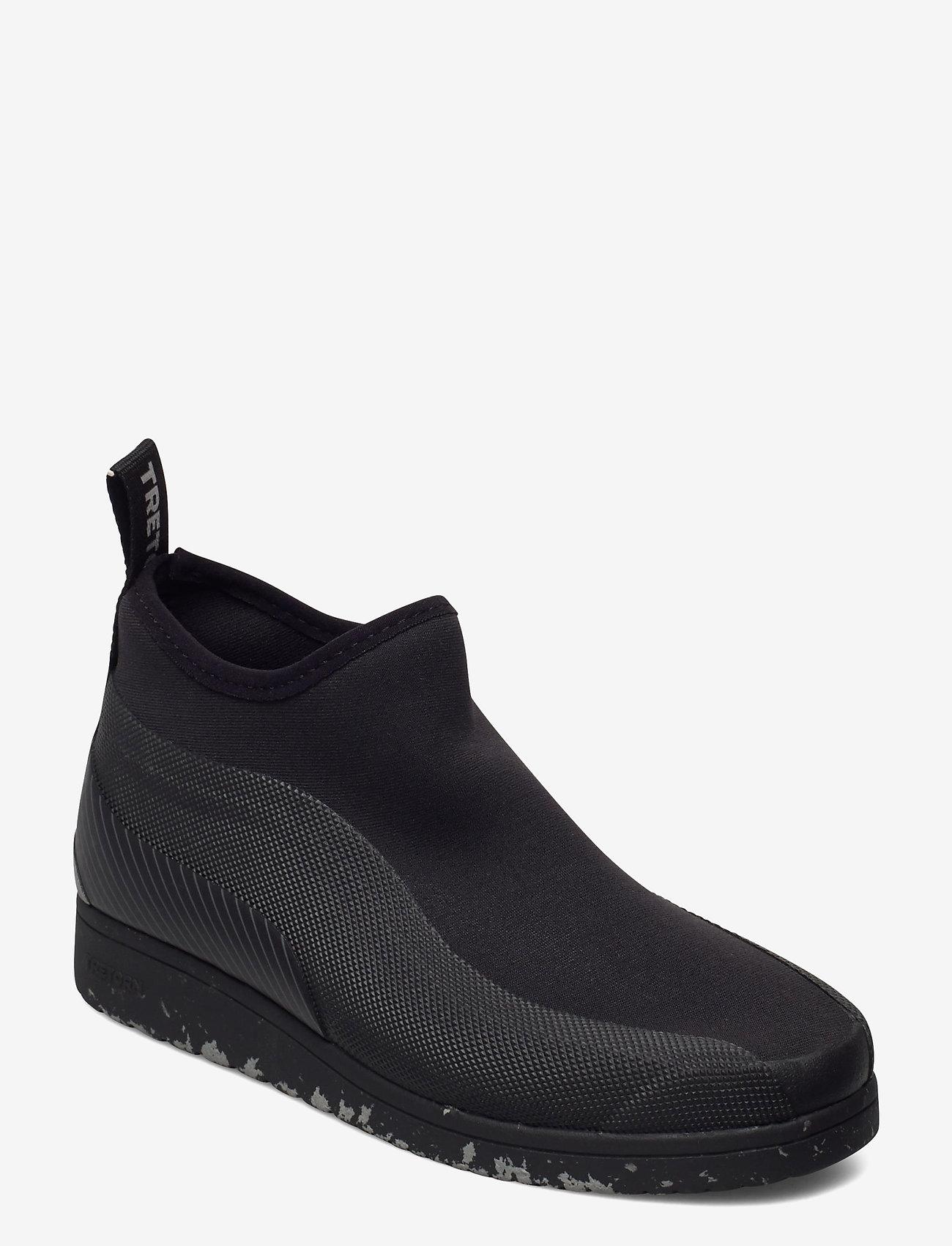 Tretorn - STELLAR HYBRID - höga sneakers - 010/black - 0