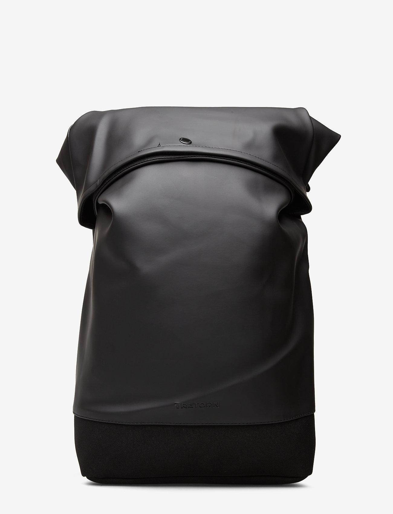 Tretorn - MALMO ROLLTOP - ryggsäckar - 010/black - 0
