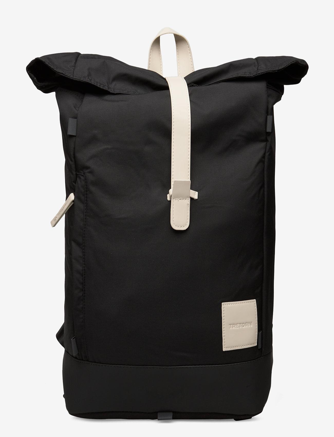 Tretorn - OCEAN NET ROLLTOP - väskor - 015/black/sand - 0