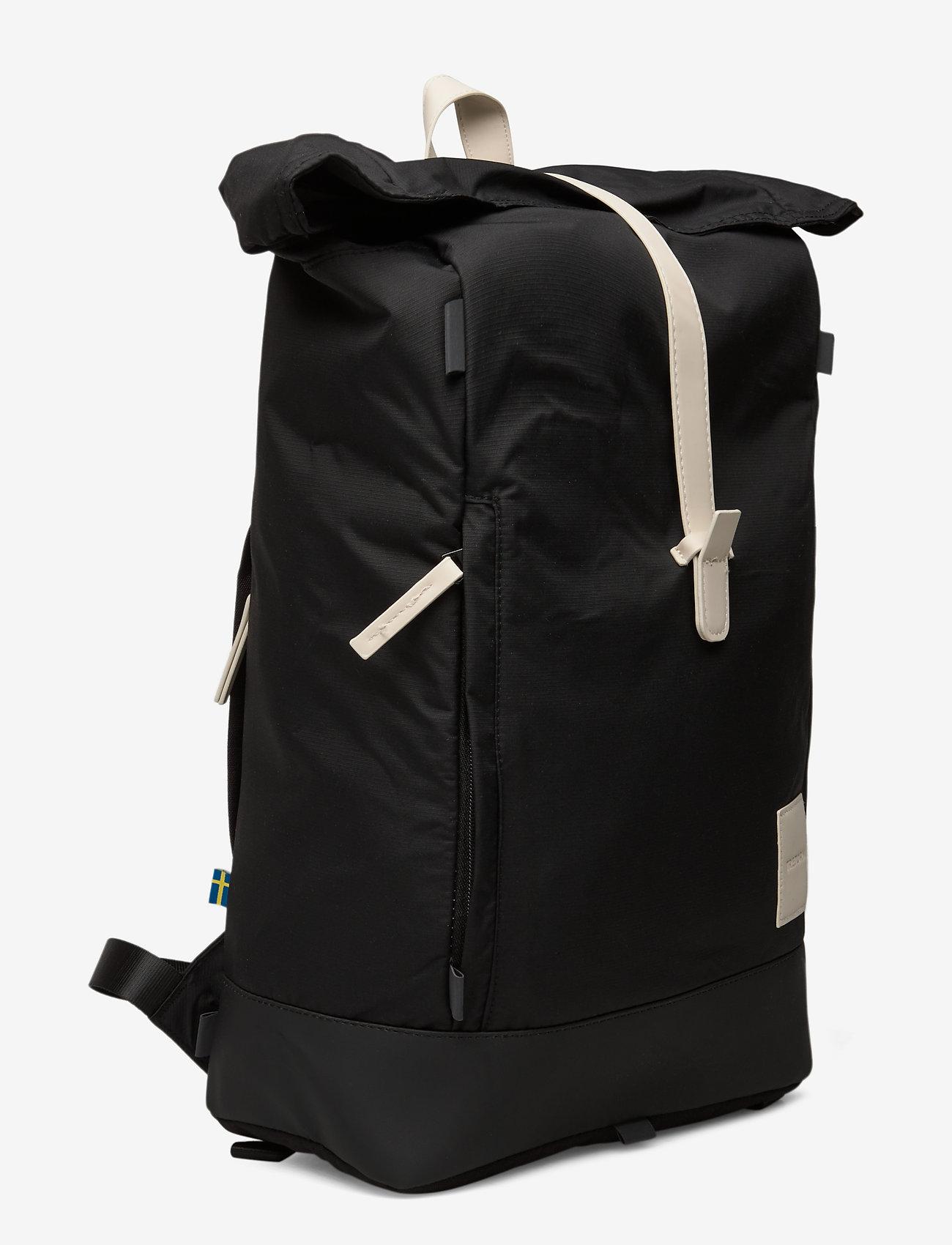 Tretorn - OCEAN NET ROLLTOP - väskor - 015/black/sand - 2