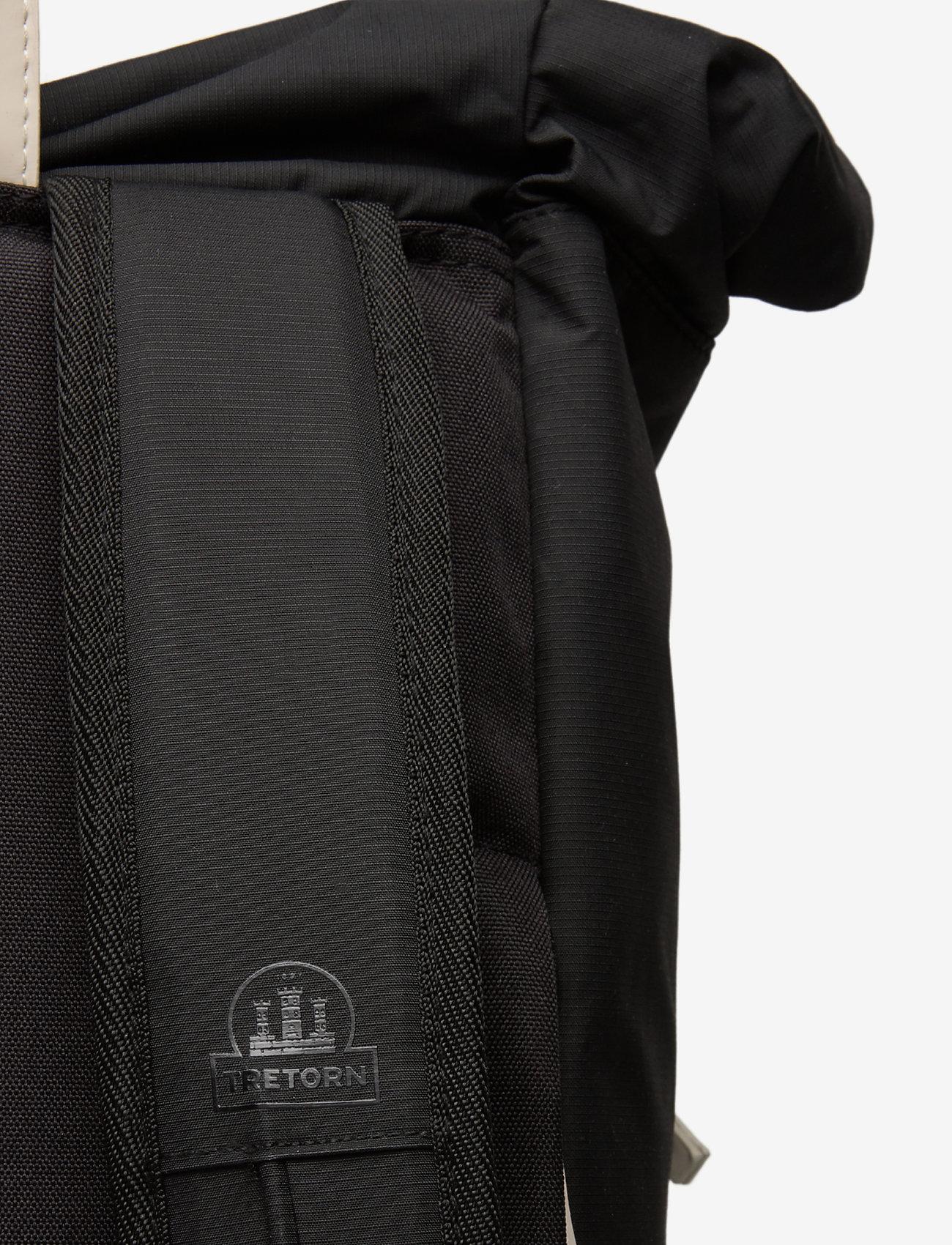 Tretorn - OCEAN NET ROLLTOP - väskor - 015/black/sand - 3