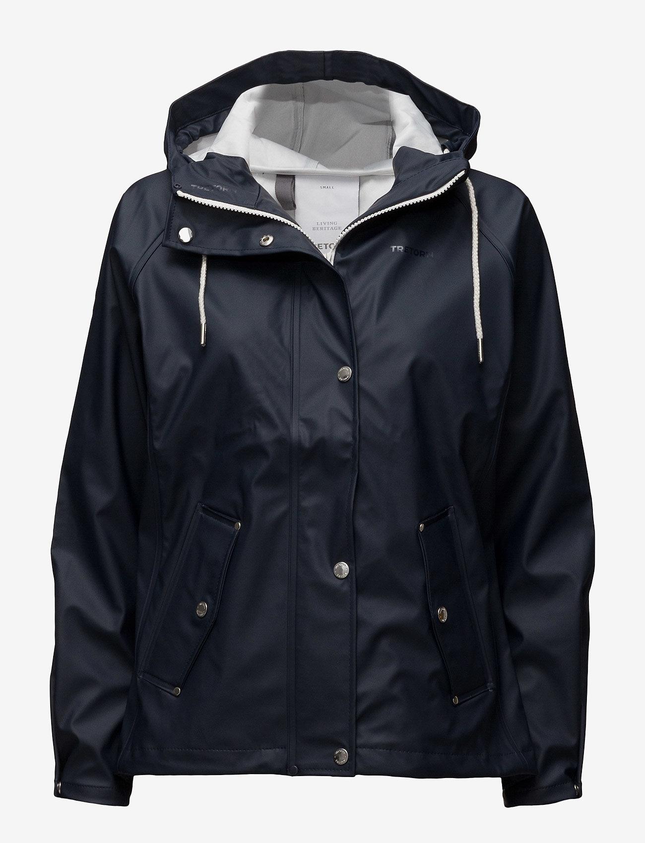 Tretorn - TORA RAINJACKET - light jackets - navyblue - 0