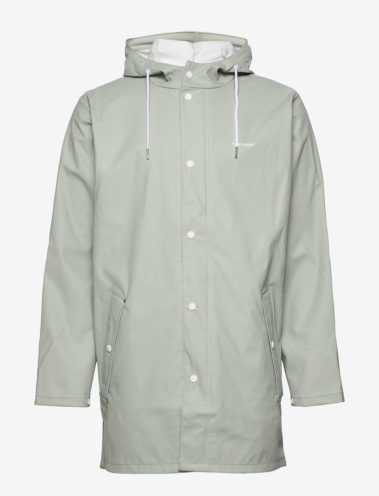 Tretorn - WINGS RAINJACKET - płaszcze przeciwdeszczowe - 069/shadow gree