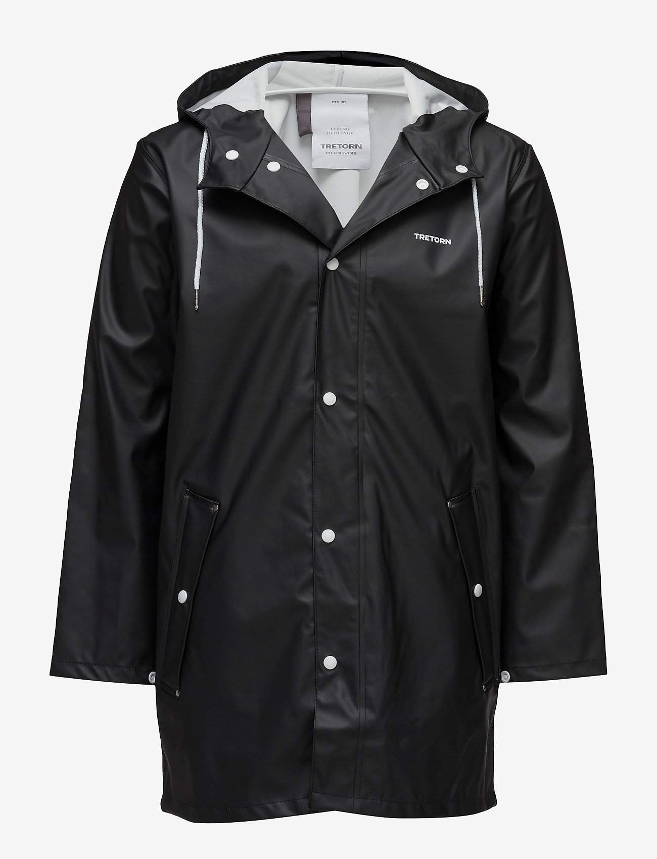 Tretorn - WINGS RAINJACKET - regnjackor - black - 0