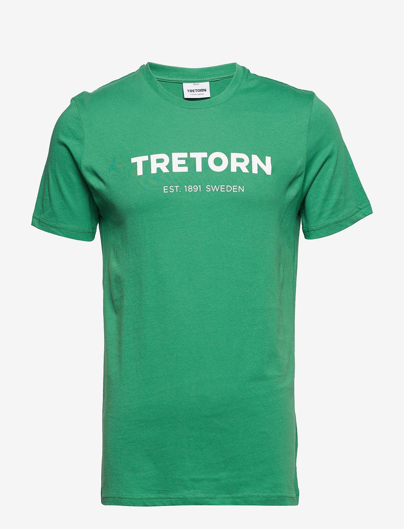 Tretorn - T-SHIRT - t-shirts à manches courtes - green - 0