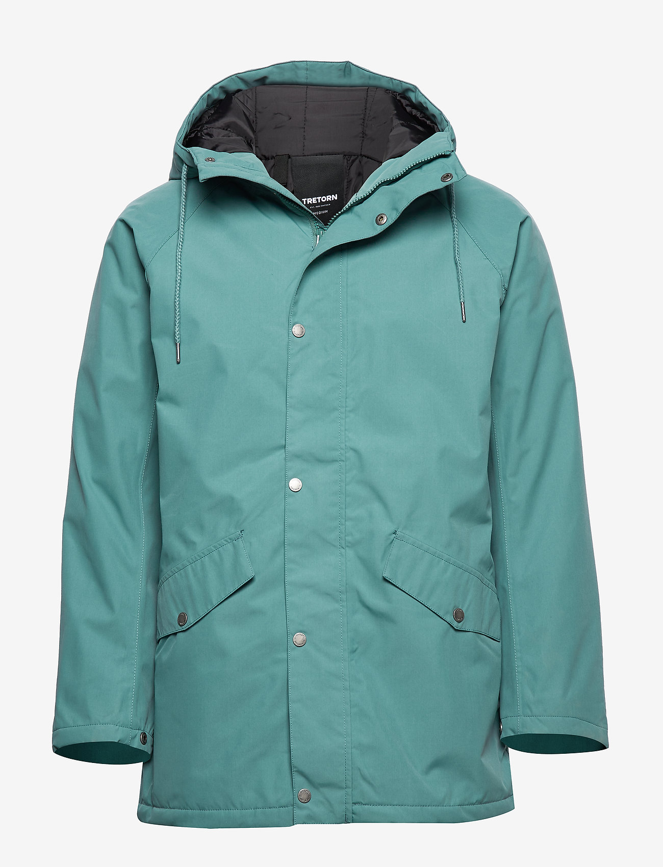 Tretorn - WINGS WOVEN PADDED JACKET - parkas - 062/artic green - 0