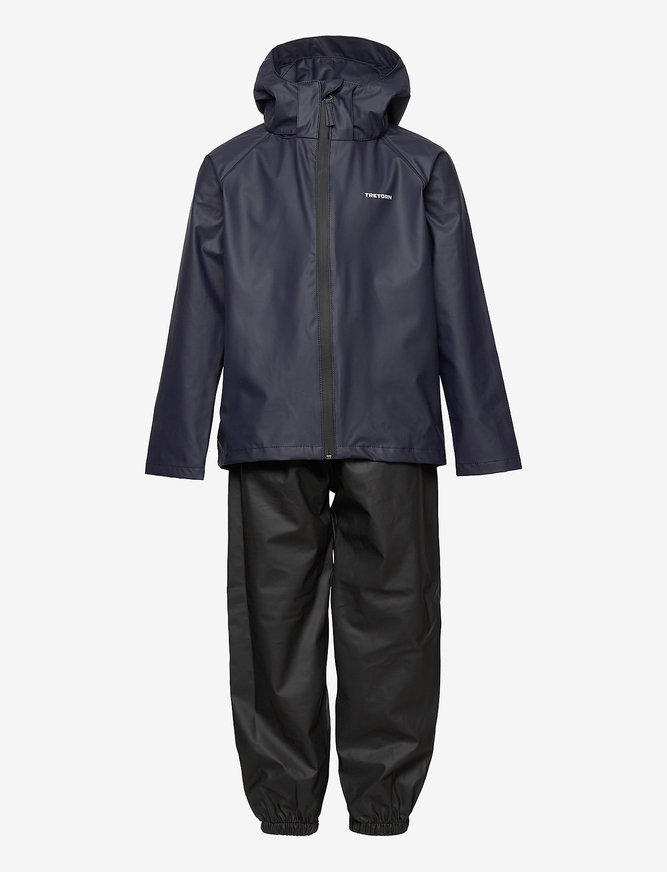 Tretorn - KIDS PACKABLE RAINSET - ensembles - 080/navy - 0
