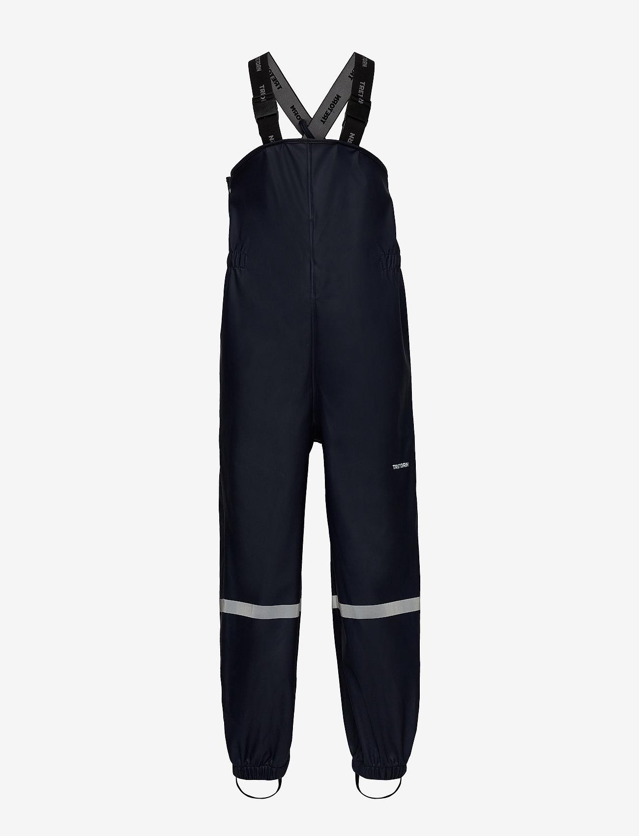 Tretorn - KIDS WINGS HIGH RAINPANTS - pantalons - 080/navy - 0