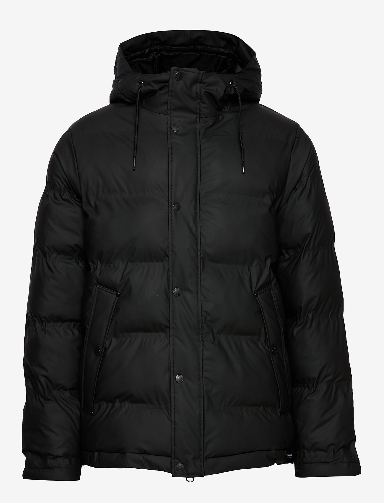 Tretorn - BAFFLE JACKET - fodrade jackor - black - 1