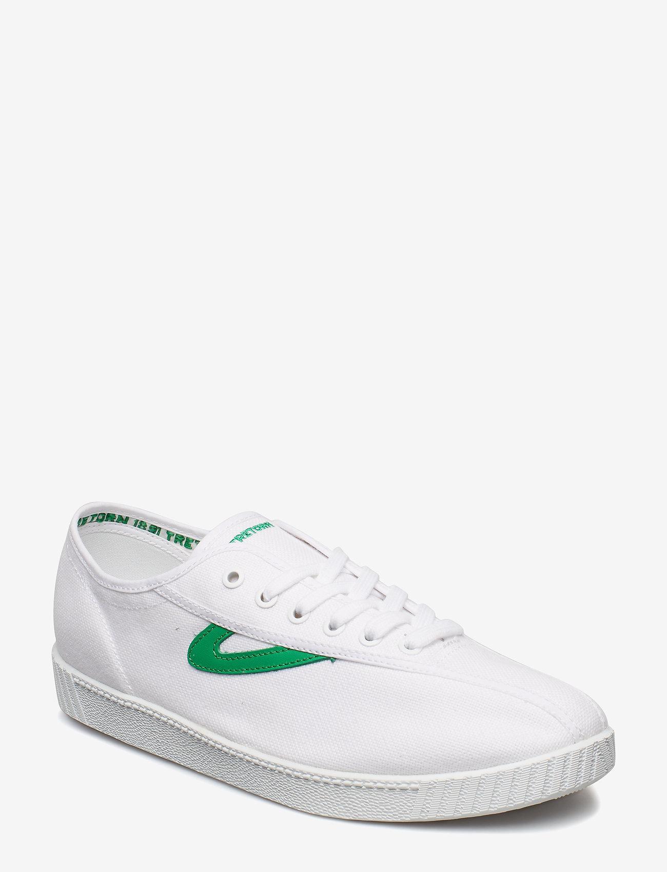 Tretorn - NYLITE - baskets basses - 029/white/green - 0