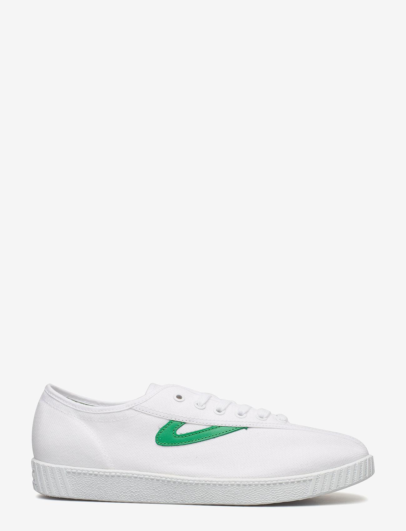 Tretorn - NYLITE - baskets basses - 029/white/green - 1