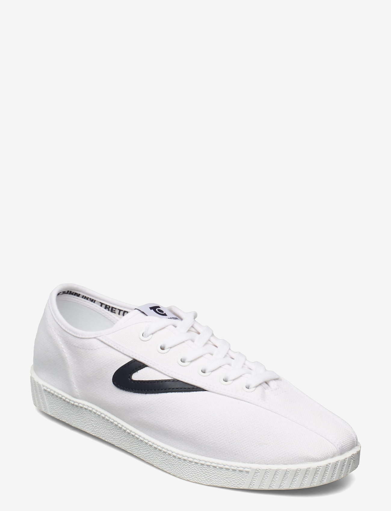Tretorn - NYLITE - låga sneakers - 031/white/lnavy - 0