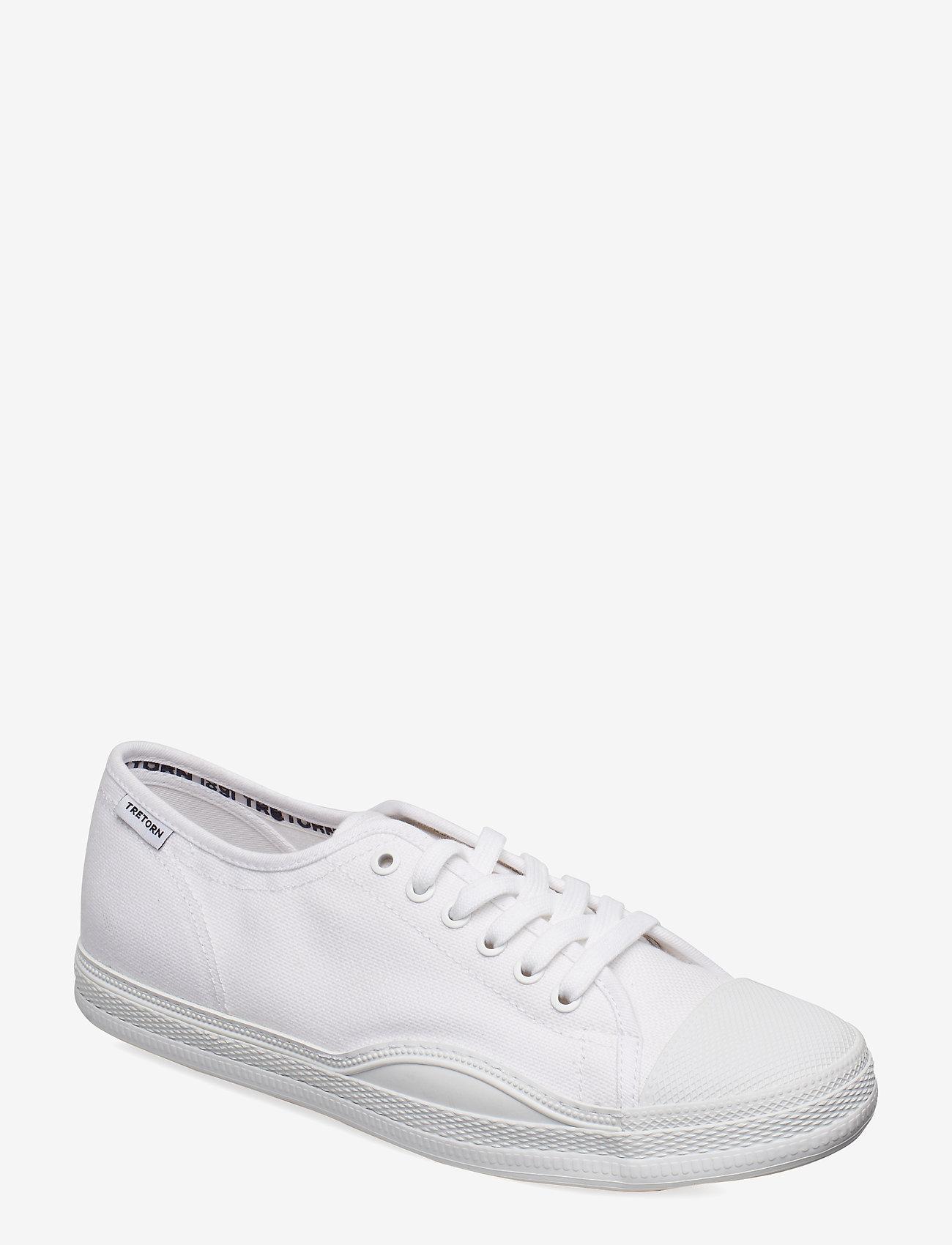 Tretorn - RACKET - baskets basses - 003/white/white - 0