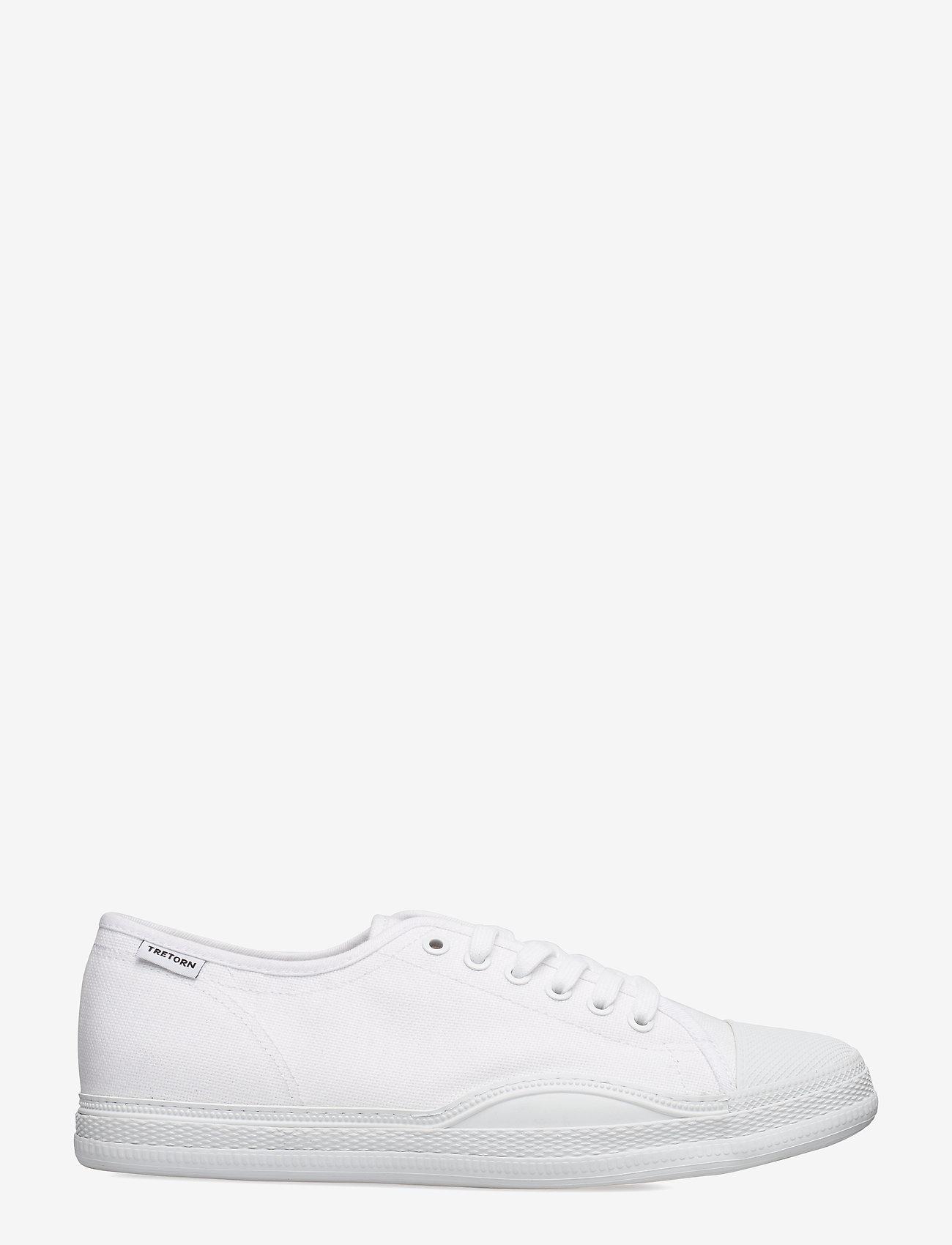 Tretorn - RACKET - baskets basses - 003/white/white - 1