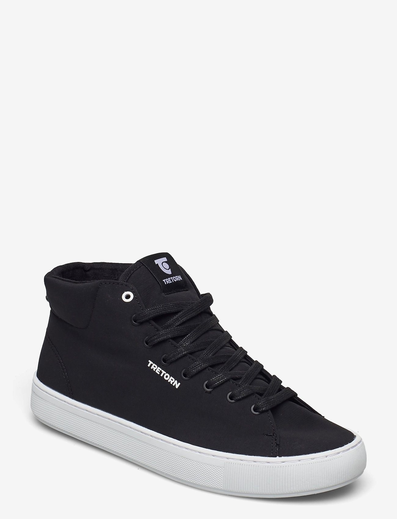 Tretorn - TOURNAMENT HI OCEAN NET - höga sneakers - 010/black - 0