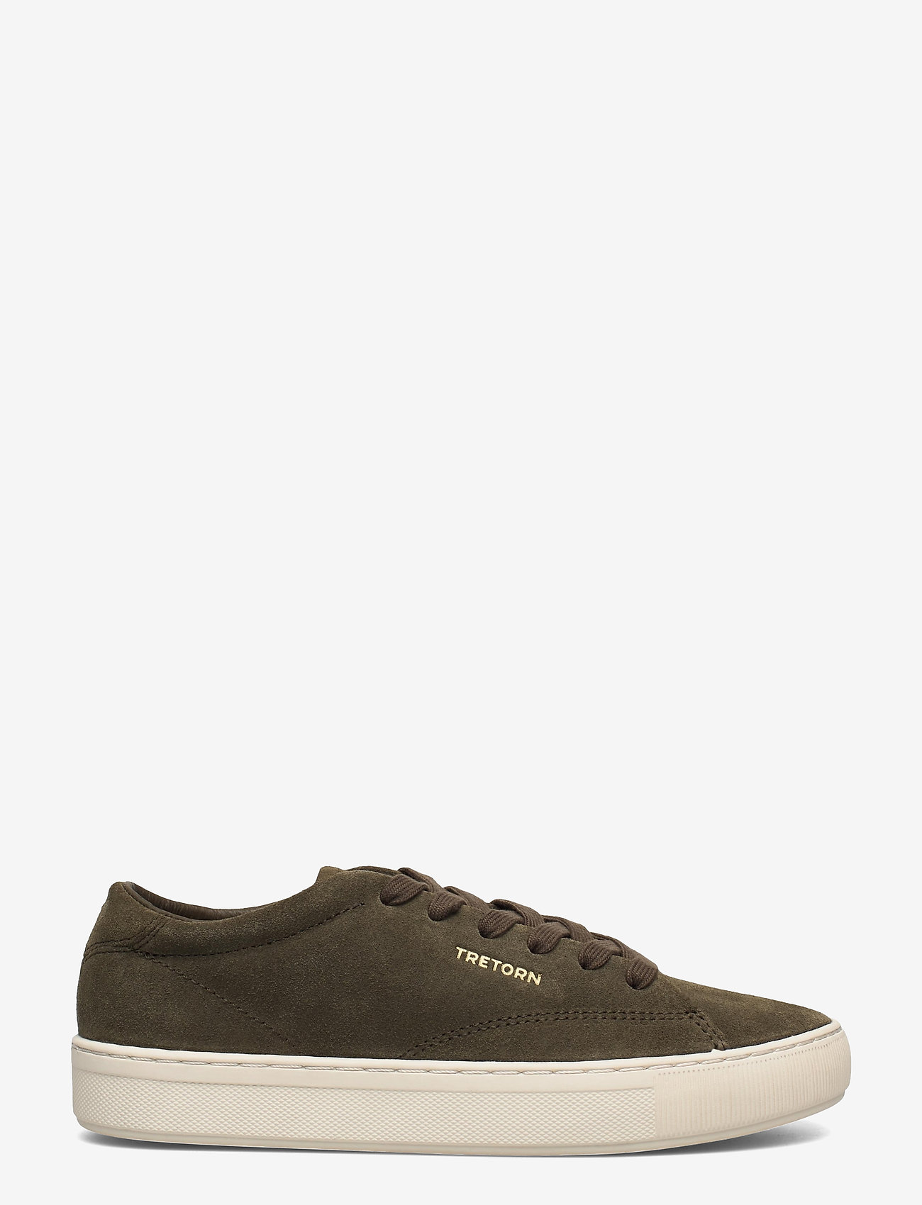 Tretorn - TOURNAMENT SUEDE - baskets basses - 049/dark olive - 1