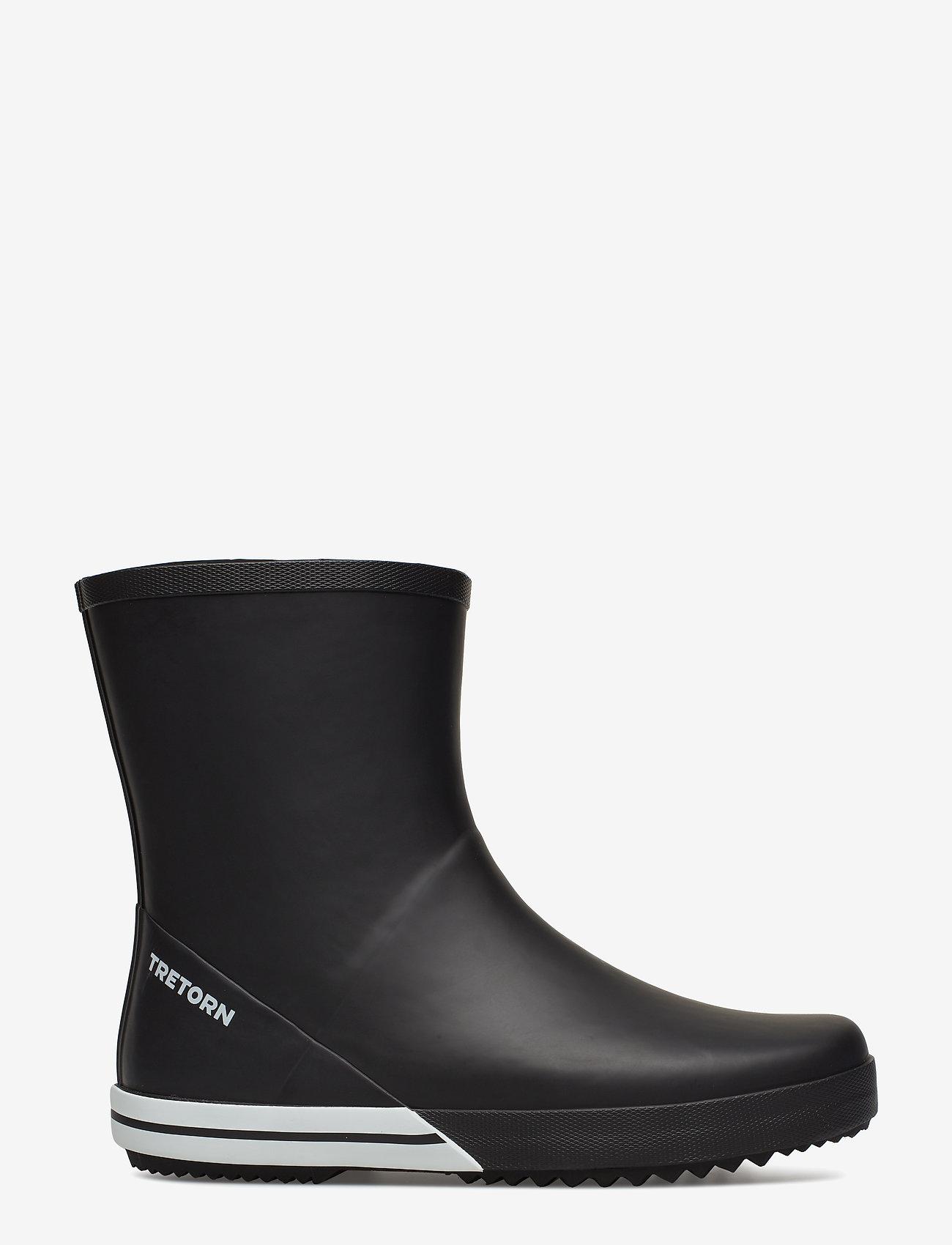 Tretorn - BASIC MID - rain boots - 010/black - 1