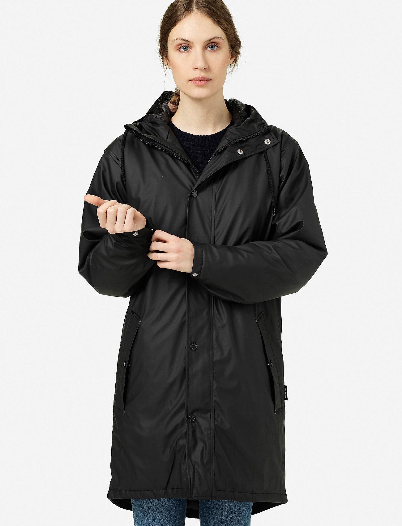 Tretorn - WINGS MONOCROME PADDED - manteaux de pluie - 011/jet black - 0