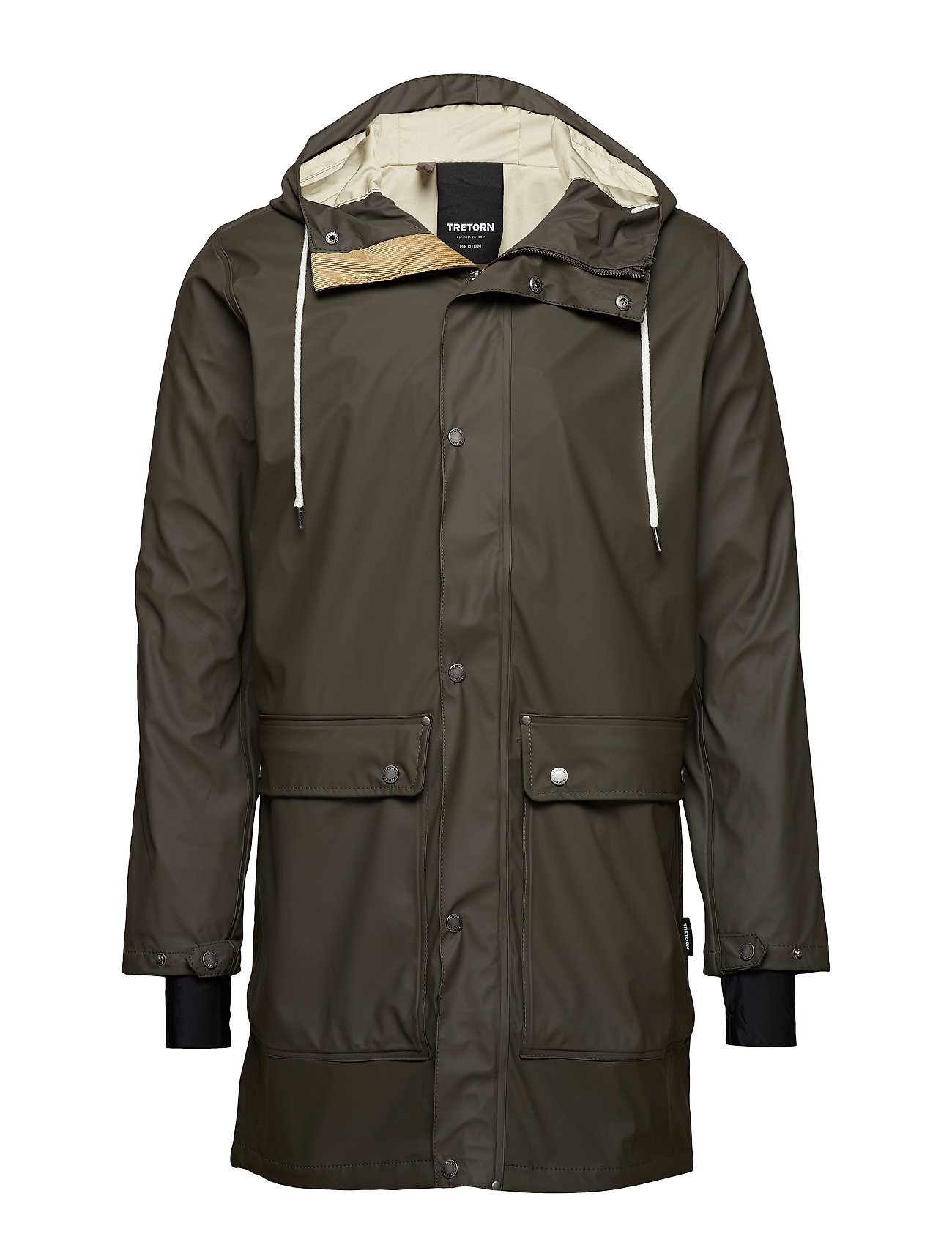 Tretorn EVALD 2.0 RAINCOAT - 066/BLACK OLIVE