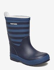 Tretorn - GRNNA - bottes en chaouthouc - 084/navy/storm - 0
