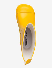 Tretorn - GRNNA - bottes en chaouthouc - yellow/yellow - 3