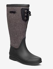 Tretorn - LISA LACE WOOL - bottes de pluie - black - 0