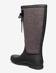 Tretorn - LISA LACE WOOL - bottes de pluie - black - 2