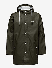 Tretorn - WINGS RAINJACKET - regnjackor - forest green - 1