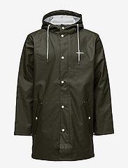 Tretorn - WINGS RAINJACKET - kläder - forest green - 1